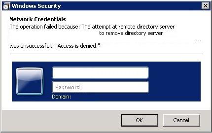 Fix: Cannot demote server Access is denied | Noel Pulis Blog